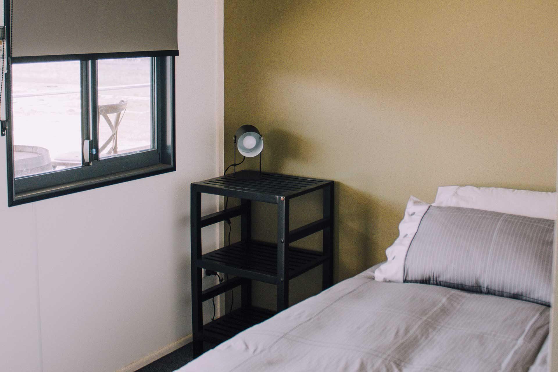 A bedroom at the Farmstay at Willow View Pastoral